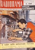 Rivista Scuola Radio Elettra - Radiorama - Anno III N. 1 - Gennaio 1958 - Libros, Revistas, Cómics