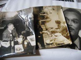 BEAUX RETIRAGES PHOTOGRAPHIQUES NOIR ET BLANC DE L'ECRIVAIN AMERICAIN CHESTER HIMES 1950 POLARS - Riproduzioni