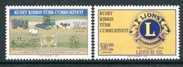 Cyprus - Turkish Cypriot Posts - 2003 Anniversaries Set MNH (SG 584-585) - Cyprus (Turkey)