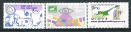 Cyprus - Turkish Cypriot Posts - 2005 Anniversaries Set MNH (SG 600-602) - Cyprus (Turkey)