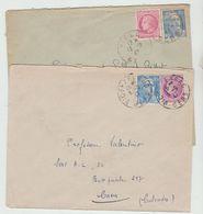 GERS: VIC-FEZENSAC Et VIELLA CàD Type A6 / 2 LSC De 1947 - Marcophilie (Lettres)