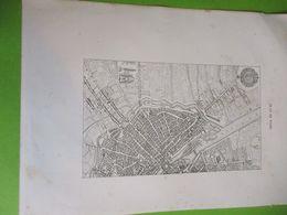 Deux Grandes Gravures PLAN De PARIS En 1654/ PARIS Sous LOUIS XIV/Monuments Et Vues/A Maquet/1883 GRAV381 - Estampas & Grabados
