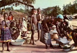 Scène De La Vie Quotidienne Africaine - Non Classés