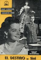 El Destino De Sisi (1957) Pressbook, 4 Pages. ROMY SCHNEIDER, KARLHEINZ BÖHM. En Espanol/Spanish. - Werbetrailer