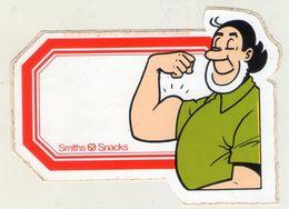 AUTOCOLLANT . STICKER . JEROME . BOB Et BOBETTE . SUSKE En WISKE . 1979 SCRIPTORIA .  SMITHS - SNACKS . - Stickers