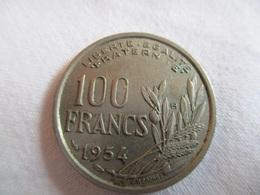 France: 100 Francs 1954 B - France
