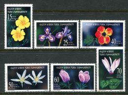 Cyprus - Turkish Cypriot Posts - 2006 Wild Flowers Set MNH (SG 623-628) - Cyprus (Turkey)