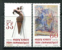 Cyprus - Turkish Cypriot Posts - 2006 Art Set MNH (SG 629-630) - Cyprus (Turkey)