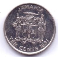 JAMAICA 1991: 10 Cents, KM 146.1 - Jamaica