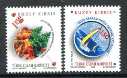 Cyprus - Turkish Cypriot Posts - 2006 Anniversaries Set MNH (SG 642-643) - Cyprus (Turkey)