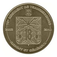 Monnaie De Paris , 2009 , Bretteville Sur Odon , 18e Régiment De Transmissions , 2033-2010 - Monnaie De Paris