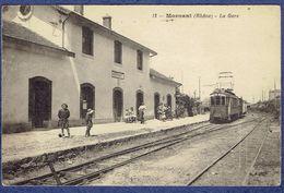 CPA RHONE (69) - MORNANT - LA GARE - Other Municipalities