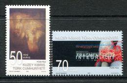 Cyprus - Turkish Cypriot Posts - 2007 Art Set MNH (SG 654-655) - Cyprus (Turkey)