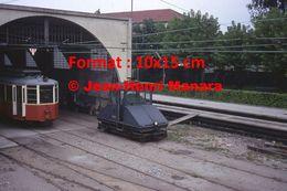 Reproduction D'une Photographie De Train Chemin De Fer à Crémaillère Superga-Turin En Italie En 1976 - Riproduzioni