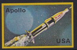 Space Weltraum Espace: Matchbox Labels ZK: Apollo, USA - Boites D'allumettes - Etiquettes