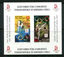 Cyprus - Turkish Cypriot Posts - 2008 Olympic Games, Beijing Imperf. MS MNH (SG MS676) - Cyprus (Turkey)
