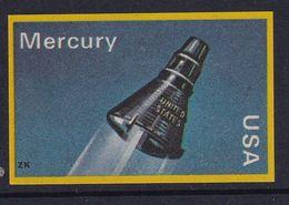 Space Weltraum Espace: Matchbox Labels ZK: Mercury; USA - Matchbox Labels