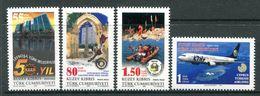 Cyprus - Turkish Cypriot Posts - 2008 Anniversaries & Events Set MNH (SG 678-681) - Cyprus (Turkey)