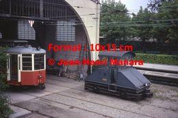 Reproduction D'une Photographie D'un Tramway T450 à Crémaillère Superga-Turin En Italie En 1976 - Riproduzioni