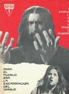 Rasputin (1966) Pressbook, 4 Pages. CHRISTOPHER LEE, BARBARA SHELLEY. En Espanol/Spanish. - Werbetrailer