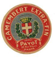 ETIQU CAMEMB PAYOT Paris - Cheese