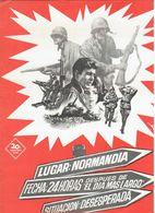 Al Dia Siguiente...(1965) Pressbook, 4 Pages. CLIFF ROBERTSON, RED BUTTONS. En Espanol/Spanish. - Werbetrailer