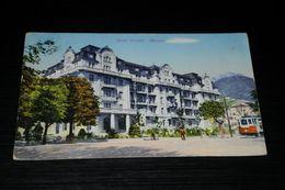 17314-              MERANO, HOTEL BRISTOL - 1930 / TRAM - Merano