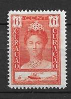 1928 MH Curacao NVPH  89A Perf. 12 1/2 - Curacao, Netherlands Antilles, Aruba