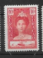 1928 MH Curacao NVPH  91A Perf. 12 1/2 - Curacao, Netherlands Antilles, Aruba