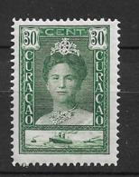 1928 MH Curacao NVPH  98A Perf. 12 1/2 - Curacao, Netherlands Antilles, Aruba