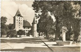 XW 3206 Nidau - Schloss Chateau Castle Castello Castillo / Viaggiata 1954 - BE Berne
