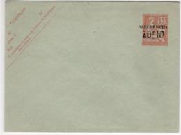 Enveloppe  Surchargée Taxe Réduite  - 15c Mouchon (ttb ) - Postal Stamped Stationery