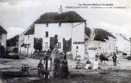 70  COMBEAUFONTAINE  GRANDE RUE ET RUE DE LA CORDELLERIE - Frankrijk