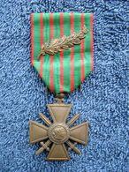 WWI Médaille Croix De Guerre Avec Palme 1914 1917 Très Bon état - Frankreich