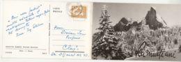 88691- RARAU MASSIF- LADY'S ROCKS, PIETRELE DOAMENI, 2 PARTS FOLDED - Roumanie