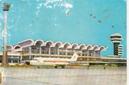 88693-BUCHAREST- OTOPENI AIRPORT, BAC 1-11 PLANE, TAROM AIRLINE, BUSS - Roumanie