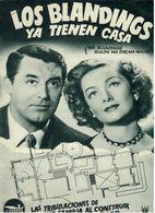 Los Blandings Ya Tienen Casa (1948) Pressbook, 8 Pages. CARY GRANT, MYRNA LOY, MELVIN DOUGLAS. (B/W) En Espanol/Spanish. - Werbetrailer