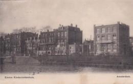 4817107Amsterdam, Emma Kinderziekenhuis. (poststempel 1908) )(Kaart Is Iets Bobbelig Door Waterschade ?) - Amsterdam
