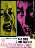 ?Que Fue De Baby Jane? (1962) Pressbook, 6 Pages. BETTE DAVIS, JOAN CRAWFORD. Directed By Robert Aldrich. En Espanol. - Werbetrailer