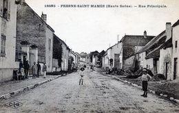 70   FRESNE ST MAMES   RUE PRINCIPALE - Frankrijk