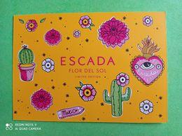 ESCADA -  Carte Parfumée - Duftkarten
