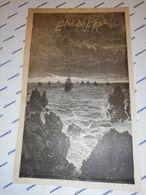 """GRAVURE CIRCA 1870  FRONTISIPICE BORD DE DE MER """"EN MER""""   14 X 23 CM - Estampas & Grabados"""