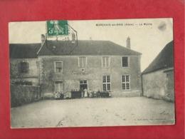 CPA Décollée - Marchais En Brie -(Aisne ) - La Mairie - Altri Comuni