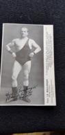 Cpp 93 DRANCY A Confirmer Yves Le BOULANGER Lutteur Haltérophile Ex Recordman 6 Novembre 1913 Mi Lourd 10 12 1912 - Wrestling