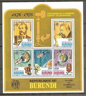 BURUNDI   2 B F  1 Dentelé Et 1 Non Dentelé Neuf ** - Burundi