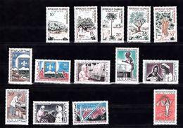 Mauritanie YT 223/240 Arbres, Jamboree, Promotion Femme Et Divers N** MNH - Mauritania (1960-...)