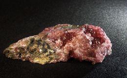 Beta-roselite On Matrix (2.5 X 1 X 1 Cm ) Aghbar Mine - Bou Azzer - Morocco - Minerales