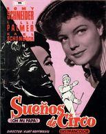 Suenos De Circo (1954) Pressbook, 4 Pages. ROMY SCHNEIDER, LILLI PALMER, KARL SCHÖNBÖCK. En Espanol/Spanish. - Werbetrailer