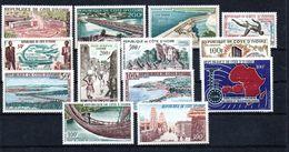 H1-11 Côte D'Ivoire Poste Aérienne Entre N° 18 Et 35 ** - Côte D'Ivoire (1960-...)