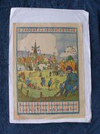 AFFICHE ORIGINALE Illustrée Par HANSI  2ème Emprunt De La Défense Nationale 1916 - Soldat Poilu Guerre 1914 1918 Alsace - Posters